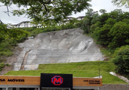 Projeto de Geotecnia mitiga riscos erosivos em Brusque SC.
